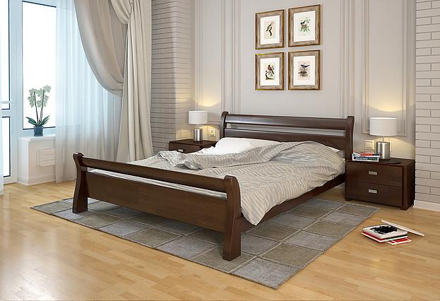 Ліжко Соната Темний горіх, ARBOR DREV