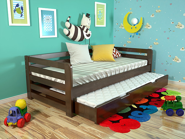 Дитяче ліжко Немо з висувною шуфляжою 9d10306587a68