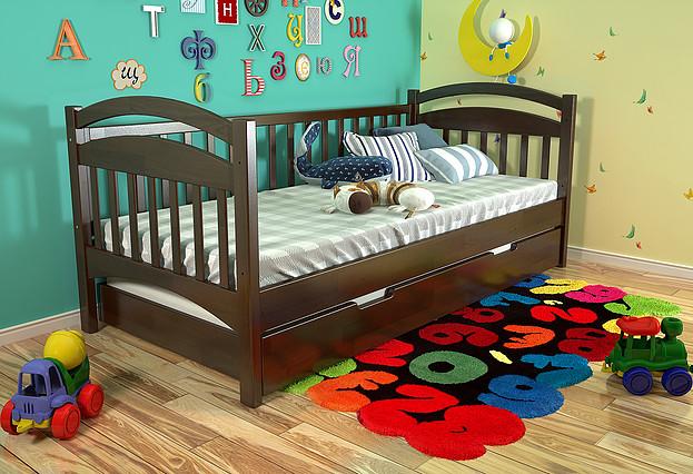 Дитяче ліжко Аліса темний горіх, ARBOR DREV