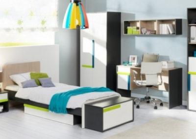 Ліжко 90 (АЛЕКС) з шухлядою