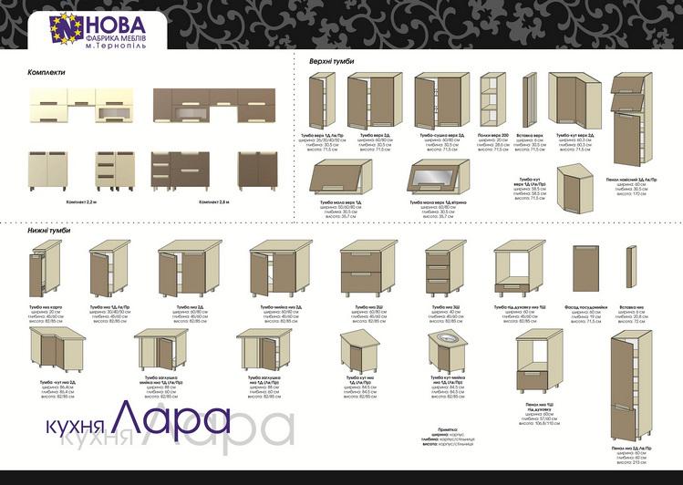 Фабрика НОВА кухня ЛАРА