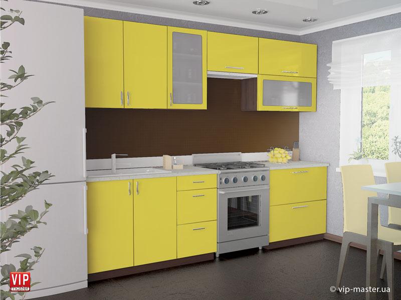 """Кухня """"Колор-мікс"""" від меблевої фабрики VIP MASTER"""