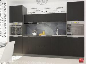 Кухня FLAT від меблевої фабрики VIP MASTER