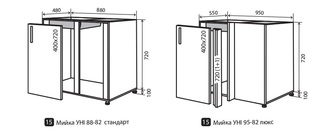 """Кухня """"Alta"""" від меблевої фабрики VIP MASTER"""