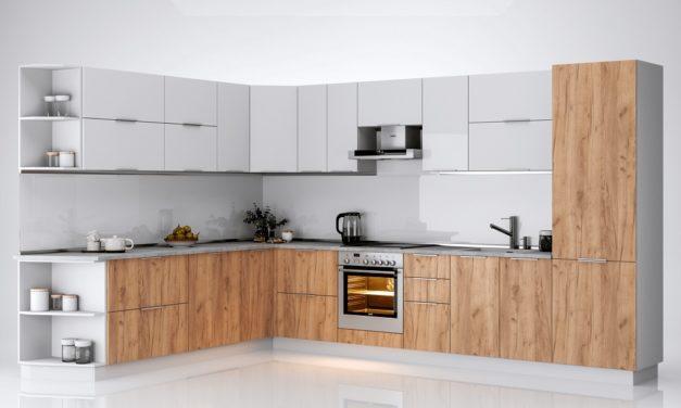 Кухня Florenc (Глянець білий/ Дуб крафт)