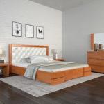 ArborDrev ліжко Регіна Люкс вільха